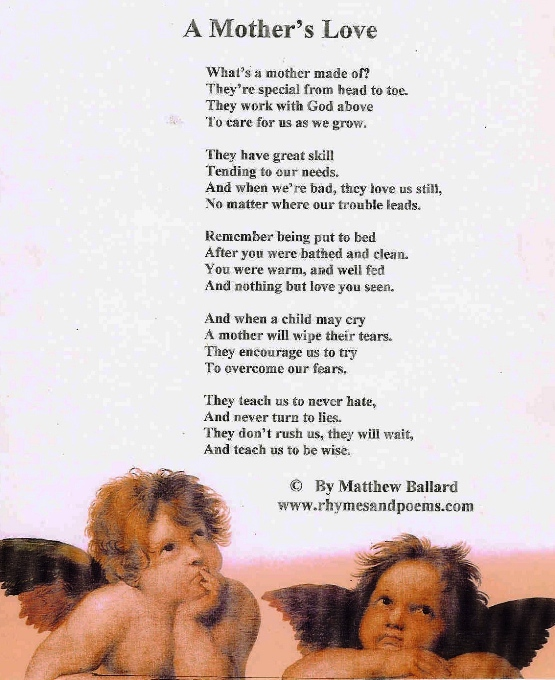 Mothers Love Rhymes and Poems